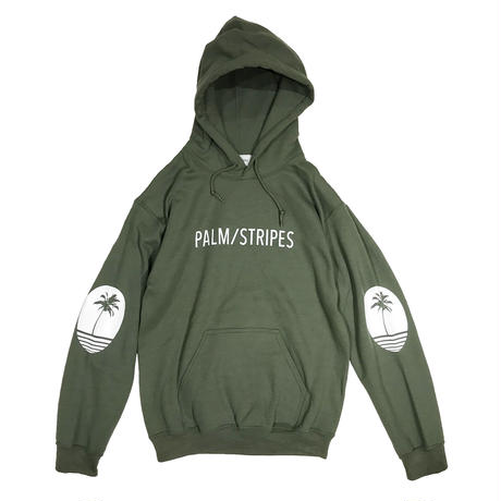 LOGO  SWEAT  HOODIE  by  PALM/STRIPES