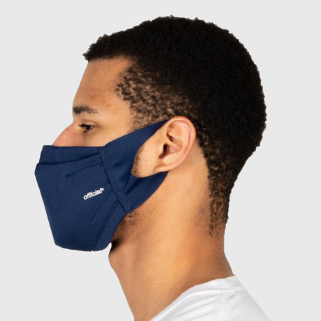 OFFICIAL Performance Face Mask #NAVY   *不織布入り3層マスク