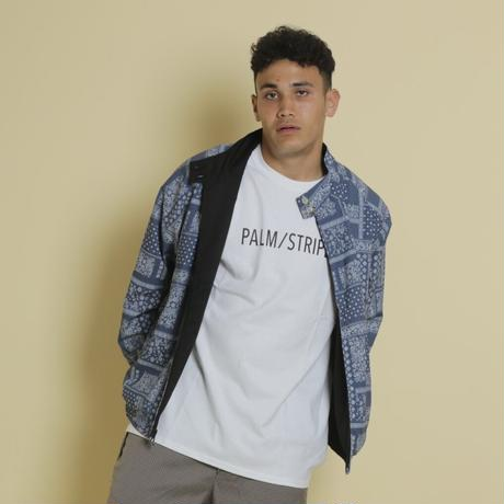 REVERSIBLE DAD JACKET by  PALM STRIPES #Navy