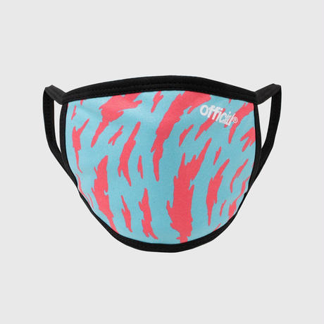 OFFICIAL  FACE MASK TIGER  NEON  #Blue