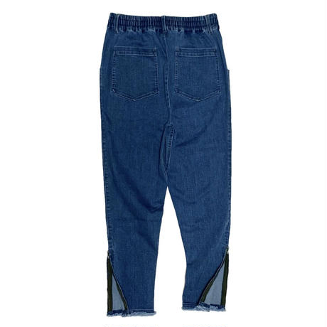JOG-DENIM  TROUSER   by  PALM/STRIPES