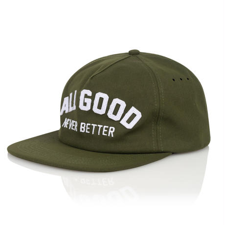 ALL  GOOD  AGNB  CAP #olive