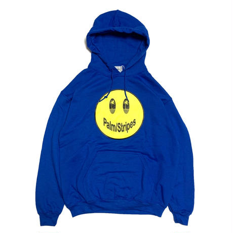 CIRCLE  PALM  HOODIE   by  PALM/STRIPES  #royal