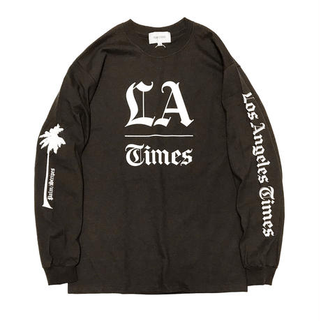 L.A. TIMES LS    TEE  by  PALM/STRIPES