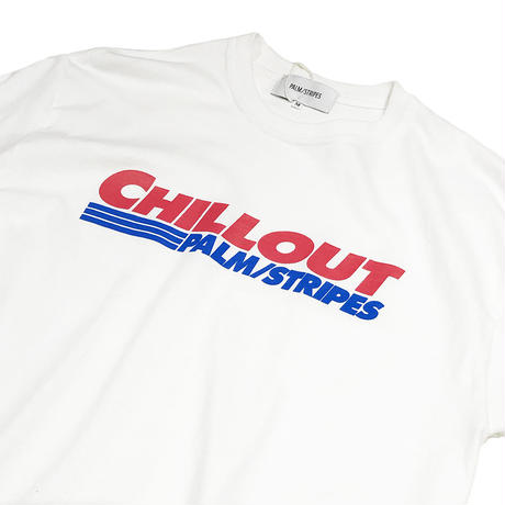 PALM/STRIPES MEGA  MART & CHILLOUT TEE