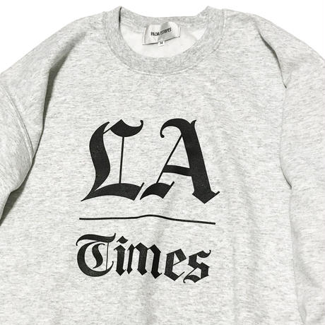 L.A.  TIMES CREW  by  PALM/STRIPES