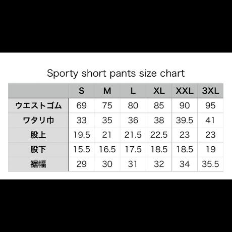 Sporty Short Pants (WHT)