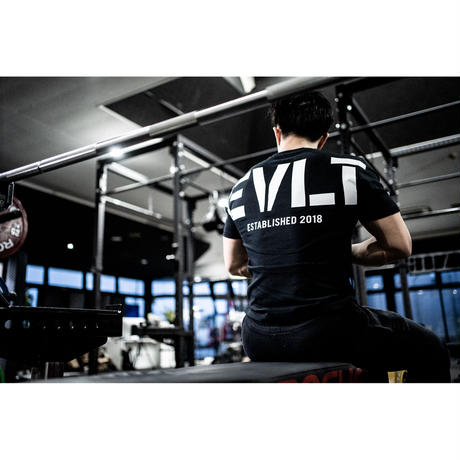 HUGE EVLT T-shirts (BLK)