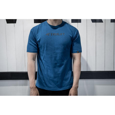 Center LOGO T-shirts(BLU)