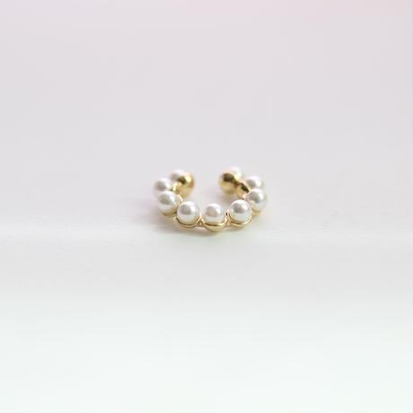 Pearl mini  Earcuff(ミニ/ゴールド)【E48-321S】