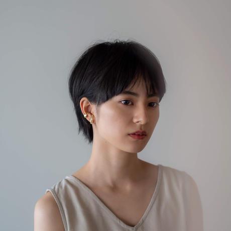 Crescent earcuff(ゴールド)【E46-332G】