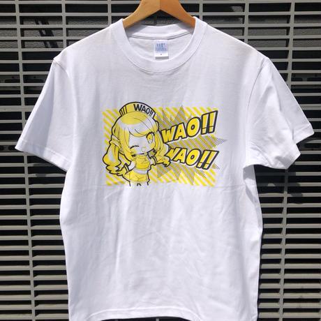 えなこ×everytokyoコラボ Wao!!  イラストT-shirts