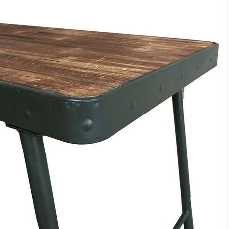 GG18  Wood & Iron Table