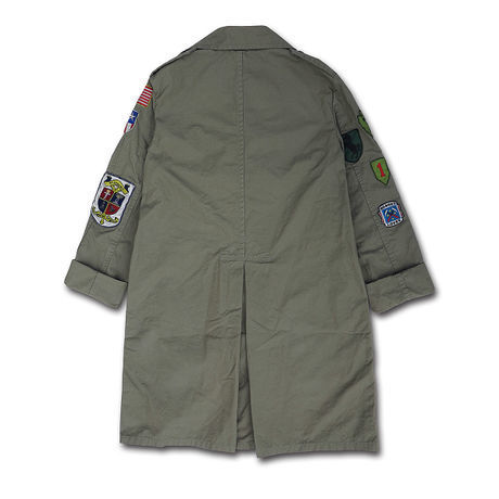 1985 ADVENTURE ARMY COAT...