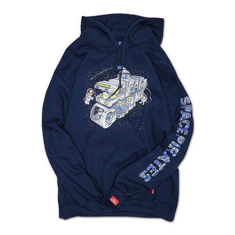 SPACE PIRATES HOODY SWEAT