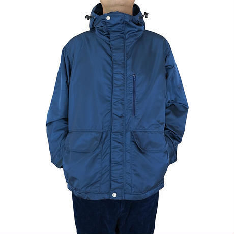INDIGO NYLON MOUNTAIN JACKET