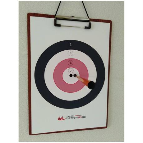 スポーツ吹矢 を利用したマグネット吹矢セット( A4サイズ)