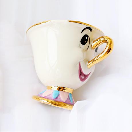 古いスタイル熱い販売ワンピース美女と野獣mrs potts'息子、チップのみmugティーコーヒーカップため友人ギフト