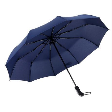 女性傘耐風折りたたみ自動傘雨防風傘用男性ブラックコーティング日傘parapluie 2018