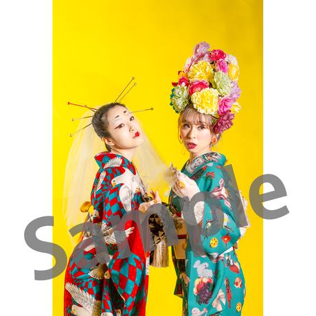 「令和源氏オペレッタ」ブロマイドB【インディア+杏セット】