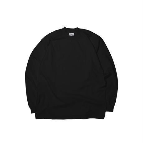 PRO CLUB HEAVY WEIGHT L/S T-Shirts (BLACK) 2XL