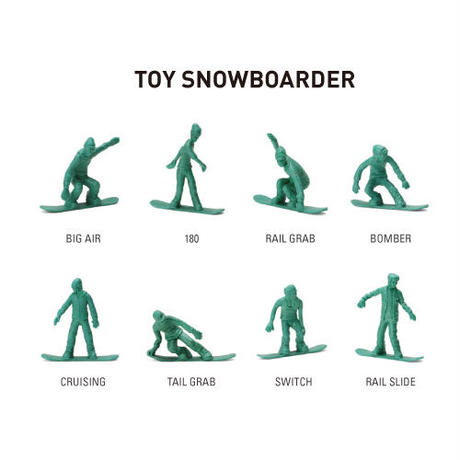 """TOY BOARDERS """"TOY SNOWBOARD #1"""""""