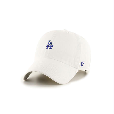 '47 BASE RUNNER CLEAN UP LOS ANGELES DODGERS (WHITE)