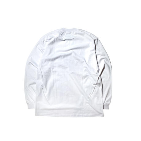 PRO CLUB HEAVY WEIGHT L/S T-Shirts (WHITE)