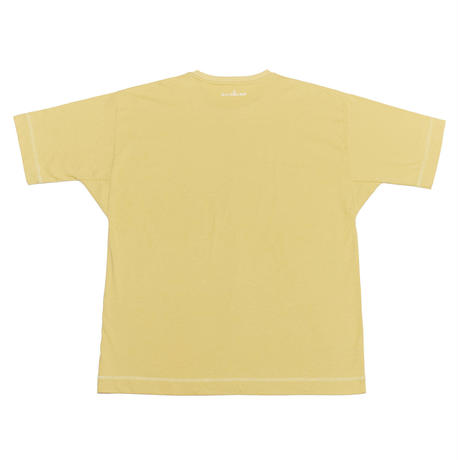 PRINTED Z-MARK BASIC T-SHIRT/YELLOW/EZT0190014