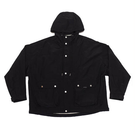DOLMAN  SLEEVE MOUNTAIN PARKA/BLACK/EZB0190006
