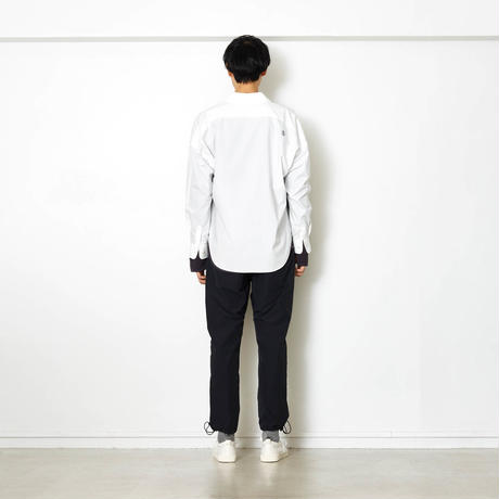 EXZ-LOGOTYPE LINE TAPE SHIRT/OFF/EZS0190001