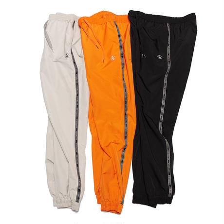 EXZ-LOGOTYPE LINE TAPE TRACK SUIT PANTS/BLACK/EZP0190009