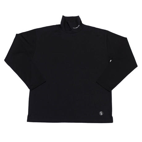 OFF TURTLENECK LONG SLEEVE TEE/BLACK/EZT0190012