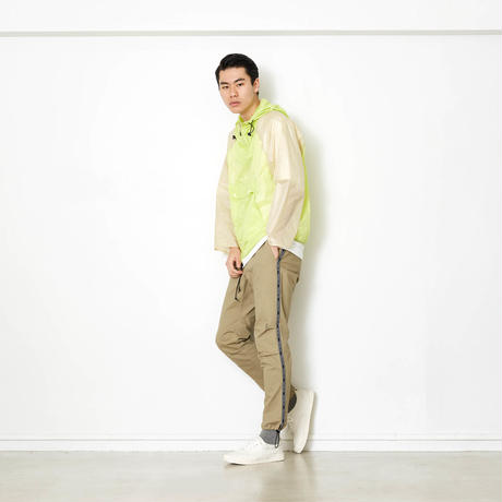 PACKABLE BI COLOR ANORAK JACKET/YELLOW/EZB0190004