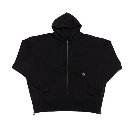 SIDE-ZIP FOODIE/BLACK/EZT0190002