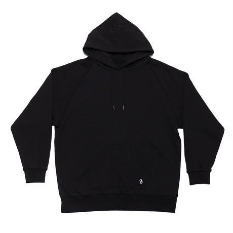 BIG SILHOUETTE FOODIED SWEATSHIRT/BLACK/EZT0190005