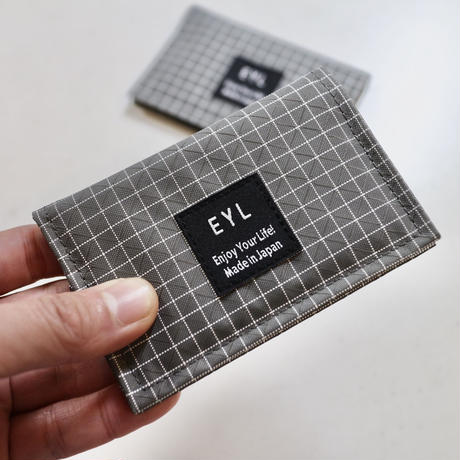 EYL Just a  Card Case Gray