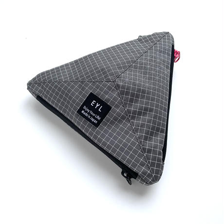 "EYL ""Medium Pouch"" Dyneema 210 denier X-grid Gray"