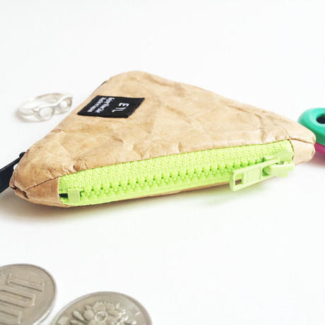 EYL triangle coin purse Tyvek