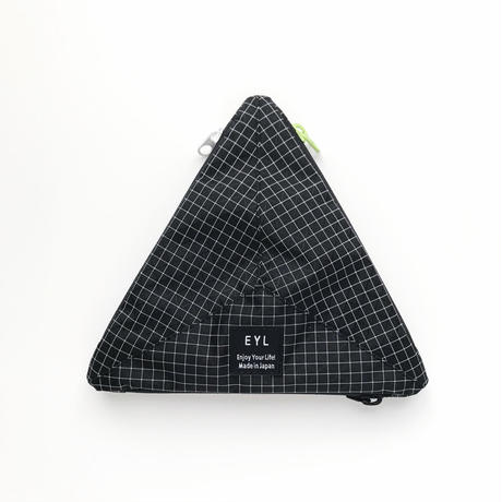"EYL ""Medium Pouch"" Dyneema 210 denier X-grid Black"