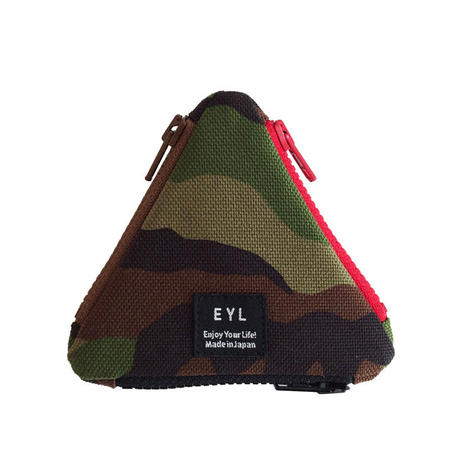 EYL triangle coin purse Camo