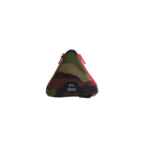 EYL triangle coin purse Camo