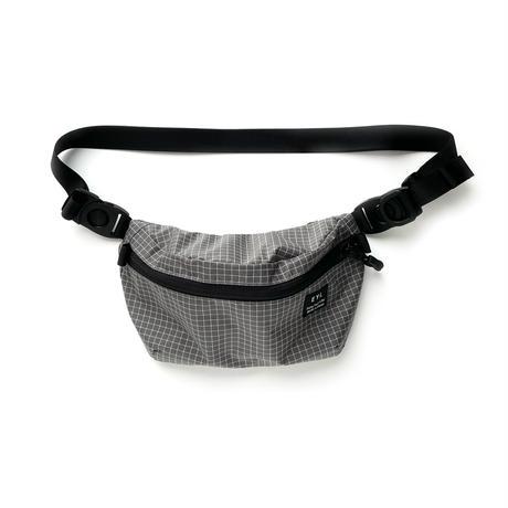 "EYL ""Waist Bag"" 210D HDPE X-Grid Gray"