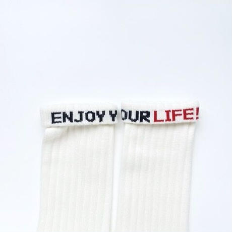 "ching & co.× EYL ""Plane -white-"" Socks 2P SET"
