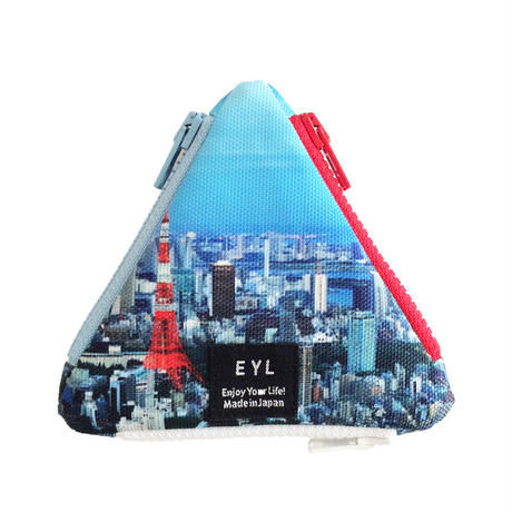 EYL triangle coin purse Tokyo Day