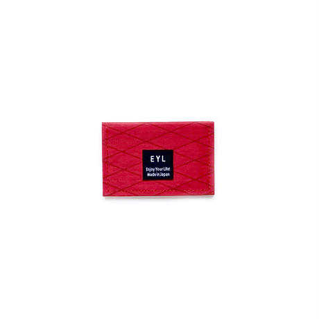 """EYL """"Just a Card Case"""" Red"""