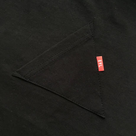 "EYL ""Triangle Pocket S/S TEE"" Black"