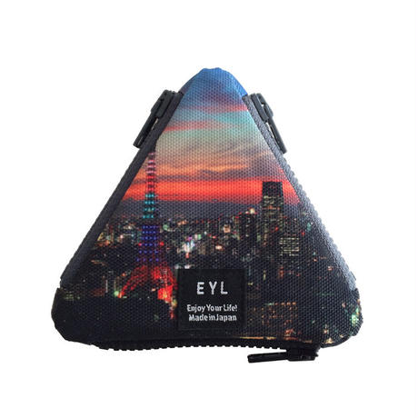 EYL triangle coin purse Tokyo Night