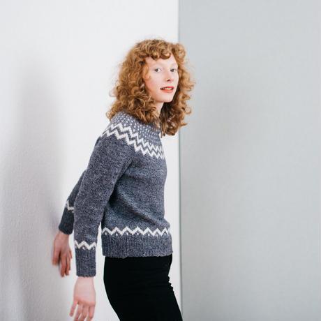 Twinkle sweater kit 空気を含んだアルパカバージョ ン(サイズ対応2xs〜M1)