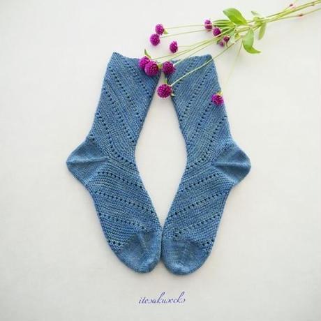 itosaku socks 靴下キット 糸とパターン